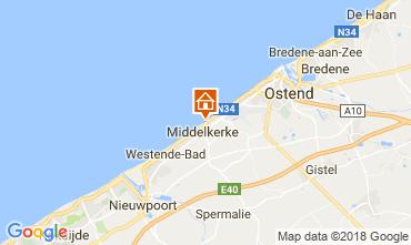 Map Middelkerke Apartment 115900