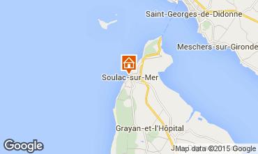 Map Soulac Villa 94610