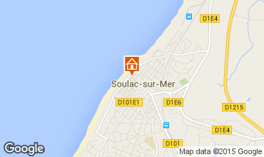 Map Soulac Villa 94610
