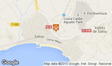 Map Salou Apartment 84060