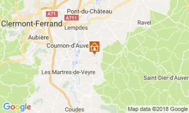Map Clermont-Ferrand Apartment 115560