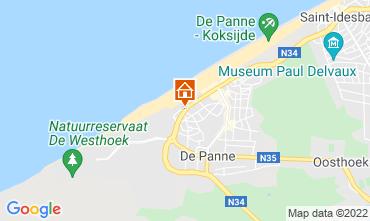 Map De Panne Apartment 78706