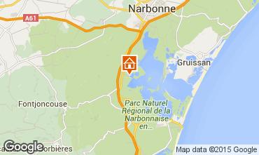 Map Peyriac-de-Mer Apartment 78748