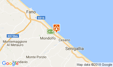 Map Fano Apartment 112791