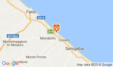Map Fano Apartment 112791