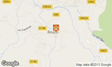 Map Risoul 1850 Apartment 59292