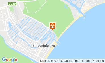Map Empuriabrava Apartment 82724