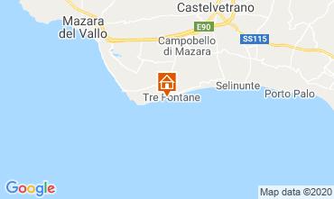 Map Tre Fontane Apartment 63992
