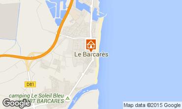 Map Le Barcares Apartment 75544