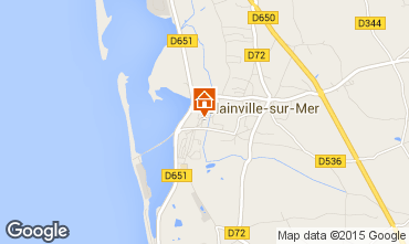 Map Blainville-sur-Mer Vacation rental 79873