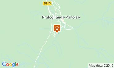 Map Pralognan la Vanoise Chalet 2283