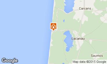 Map Lacanau House 76733