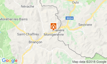 Map Montgenevre Apartment 100869