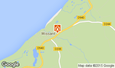 Map Wissant Apartment 61781
