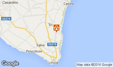 Map Marina di Novaglie Apartment 102611