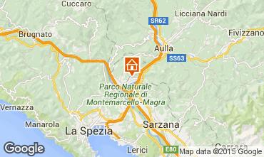 Map La Spezia Apartment 81895