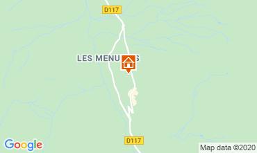 Map Les Menuires One-room apartment 1615