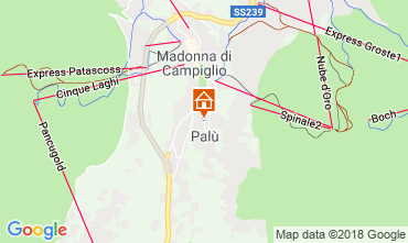 Map Madonna di Campiglio Apartment 52141