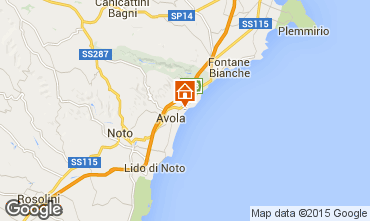 Map Avola Villa 69066