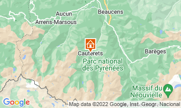 Map Cauterets Apartment 15298