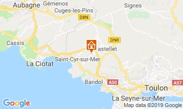 Map La Cadière d'Azur House 96924
