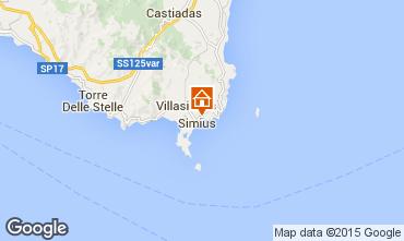 Map Villasimius Villa 99829