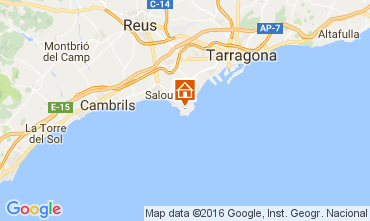 Map Salou Apartment 75494