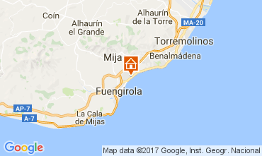 Map Fuenguirola Apartment 111259