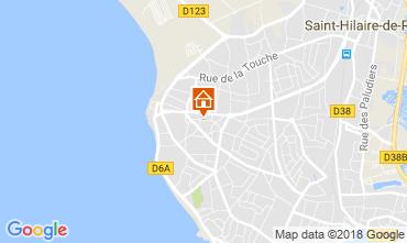 Map Saint Hilaire de Riez Villa 113956