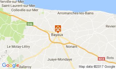 Map Bayeux Apartment 110414