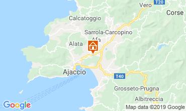 Map Ajaccio One-room apartment 64723