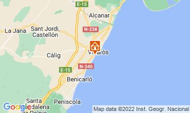 Map Vinaròs Apartment 103061