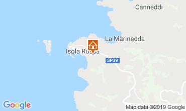 Map Isola Rossa Apartment 119104