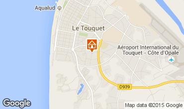 Map Le Touquet Apartment 92348