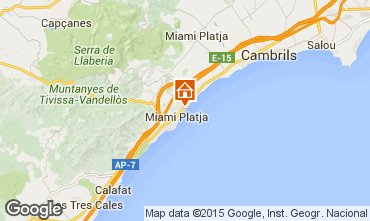 Map Cambrils Apartment 9715