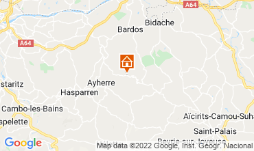 Map Biarritz House 69281