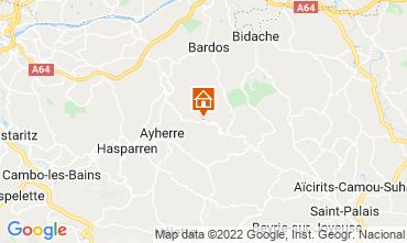 Map Biarritz Chalet 69281