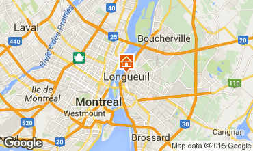 Map Montreal Apartment 96620