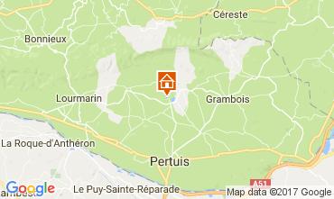 Map Lourmarin Villa 108812