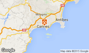 Map Cannes Apartment 95390