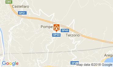Map Santo Stefano al Mare Apartment 83514