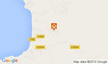 Map Porticcio Villa 104065