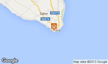 Map Santa Maria di Leuca Apartment 77749