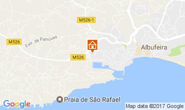 Map Albufeira Apartment 109950