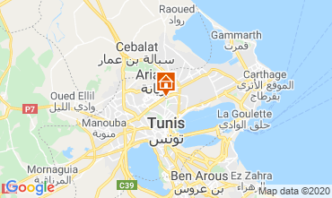 Map Tunis Apartment 80246