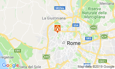 Map Rome Apartment 98711