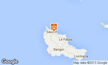 Map Sauzon House 14955