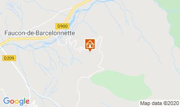 Map Barcelonnette Chalet 2797
