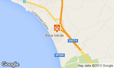 Map Gallipoli Apartment 16254