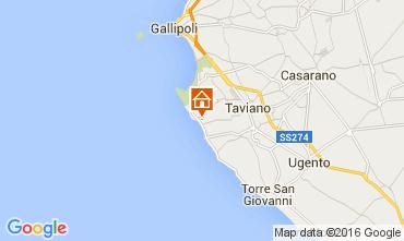Map Gallipoli Apartment 105260